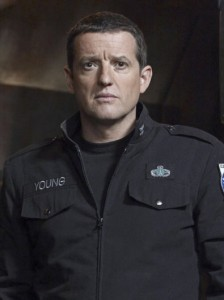 Everett Young (Louis Ferreira) in Stargate Universe.  © Syfy Photo: Art Streiber