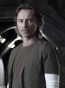 Dr. Nicholas Rush (Robert Carlyle) in Stargate Universe. - © Syfy Photo: Art Streiber
