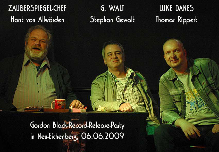 Der Rezensenten-Talk zwischen G. Walt und Luke Danes (Reloaded)