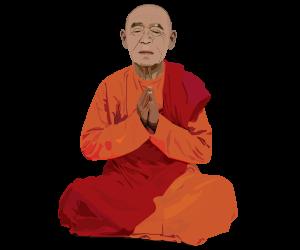 meditaingmonk