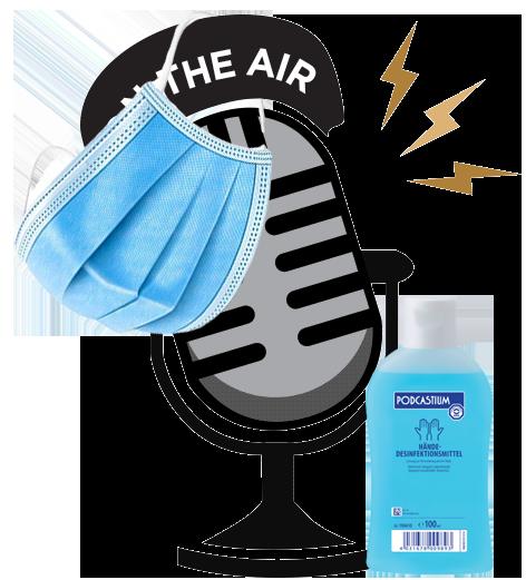 Neue Podcast um die Pandemie zu überbrücken…
